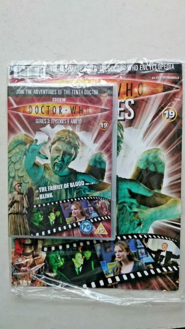 Doctor Who Series 3 Episodes 9 and 10  SEALED With Magazine